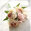 رخيصةأون كماشة-زهور اصطناعية 8.0 فرع ستايل حديث الفاوانيا أزهار الطاولة