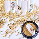 hesapli Makyaj ve Tırnak Bakımı-1 pcs Parıltı / Metal Boncuklar / Nail Jewelry Zarif & Lüks / Pullu ve Işıltılı Modaya Uygun Takı / Köpüklü Günlük / Egzersiz / Günlük Giyim Tırnak Tasarımı Tasarımı