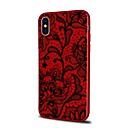 저렴한 아이폰 케이스-케이스 제품 Apple iPhone X / iPhone 8 Plus 패턴 뒷면 커버 레이스 인쇄 소프트 TPU 용 iPhone X / iPhone 8 Plus / iPhone 8