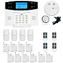 cheap CCTV Systems-GSM / PSTN Platform GSM / PSTN SMS / Phone / Learning Code 433Hz for
