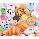 cheap Drawing Toys-LT.Squishies Squeeze Toy / Sensory Toy Stress Reliever Food&Drink Food Donuts Stress and Anxiety Relief Office Desk Toys Relieves ADD, ADHD, Anxiety, Autism 10 pcs Classic Kid's Adults' Unisex Boys