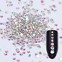 رخيصةأون أغطية أيفون-مجوهلرات الأظافر تصميم فن الأظافر موضة / 3D يوميا