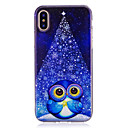 cheap iPhone Cases-Case For Apple iPhone X / iPhone 8 IMD / Pattern Back Cover Owl Soft TPU for iPhone X / iPhone 8 Plus / iPhone 8