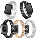 voordelige Nagelstempels-Horlogeband voor Apple Watch Series 4/3/2/1 Apple Moderne gesp Metaal Polsband