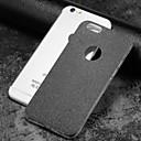 رخيصةأون أغطية أيفون-غطاء من أجل Apple iPhone X / iPhone 8 Plus / iPhone 8 مثلج غطاء خلفي بريق لماع ناعم TPU