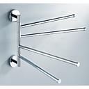 ieftine Gadget Baie-Prosop Baie Universal Teak 1 piesă - Hotel baie 4-bar prosop