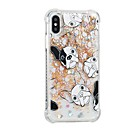 hesapli iPhone Kılıfları-Pouzdro Uyumluluk Apple iPhone X / iPhone 8 Plus Akan Sıvı / Temalı Arka Kapak Köpek Yumuşak TPU için iPhone 8 Plus / iPhone 8