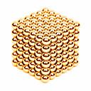preiswerte Magnetpuppen-216 pcs 3mm Magnetspielsachen Magnetische Bälle Bausteine Superstarke Magnete aus seltenem Erdmetall Neodym - Magnet Stress und Angst Relief Büro Schreibtisch Spielzeug Heimwerken Erwachsene / Kinder