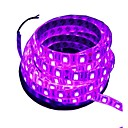 cheap Car Mounts & Holders-5m Flexible LED Light Strips 300 LEDs 5050 SMD Pink Waterproof / Cuttable / Decorative 12 V 1pc / Suitable for Vehicles / Self-adhesive / IP44