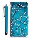 hesapli Şarj Aletleri-Pouzdro Uyumluluk Samsung Galaxy J7 (2017) J5 (2017) Kart Tutucu Cüzdan Satandlı Flip Manyetik Tam Kaplama Kılıf Çiçek ağaç Sert PU Deri