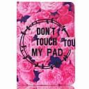 رخيصةأون إكسسوارات سامسونج-غطاء من أجل Apple iPad Mini 3/2/1 / iPad Mini 4 محفظة / حامل البطاقات / مع حامل غطاء كامل للجسم جملة / كلمة قاسي جلد PU
