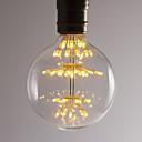 رخيصةأون مصابيح خيط ليد-BRELONG® 1PC 2.5 W مصابيح كروية LED 300 lm E26 / E27 47 الخرز LED مصلحة الارصاد الجوية ديكور أبيض دافئ 220-240 V