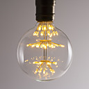 hesapli Akkor Ampuller-BRELONG® 1pc 2.5W 300lm E26 / E27 LED Küre Ampuller 47 LED Boncuklar SMD Dekorotif Sıcak Beyaz 220-240V