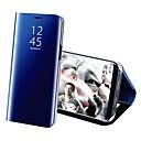 preiswerte Hüllen / Cover für Sony-Hülle Für Samsung Galaxy S9 S9 Plus mit Halterung Beschichtung Spiegel Ganzkörper-Gehäuse Solide Hart PU-Leder für S9 Plus S9