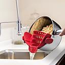 Недорогие Гаджеты для ванной-Кухонные принадлежности силикагель Многофункциональный / Творческая кухня Гаджет Для фруктов и овощей Для приготовления пищи Посуда 1шт