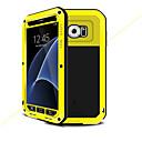 رخيصةأون حافظات / جرابات هواتف جالكسي S-غطاء من أجل Samsung Galaxy S7 الماء / التراب / والدليل على الصدمة غطاء كامل للجسم لون الصلبة قاسي معدن إلى S7