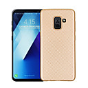 cheap iPhone Cases-Case For Samsung Galaxy A8 Plus 2018 / A8 2018 Ultra-thin Back Cover Solid Colored Soft TPU for A3(2017) / A5(2017) / A7(2017)