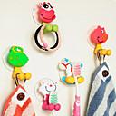 preiswerte Badezimmer Gadgets-Haken Multi-Funktion / Niedlich / Kreativ Zeichentrick Silikon Gummi / PVC 1pc - Tools Zahnbürste und Zubehör