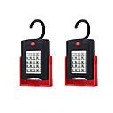 hesapli Seyahat Sağlığı-2pcs Gece aydınlatması LED Beyaz AAA Pilleri Güçlendirildi Güvenlik Kolay Taşınır Acil <5V