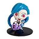 preiswerte Anime Cosplay-Spielzeugfigur Spielzeuge Krieger Menschen 3D Zeichentrick PVC (Polyvinylchlorid) 1 Stücke