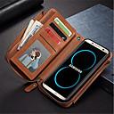 رخيصةأون حافظات / جرابات هواتف جالكسي S-غطاء من أجل Samsung Galaxy S8 Plus / S8 / S7 edge محفظة / حامل البطاقات / ضد الصدمات غطاء كامل للجسم لون الصلبة قاسي جلد PU