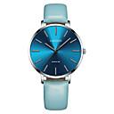 levne Dámské-CADISEN Dámské Hodinky na běžné nošení Módní hodinky japonština Křemenný 30 m Voděodolné Hodinky na běžné nošení Kůže Kapela Analogové Módní Elegantní Černá / Modrá - Black / Gray Námořnická modrá
