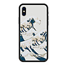 abordables Coques d'iPhone-Coque Pour Apple iPhone X iPhone 8 Plus Motif Coque Paysage Bande dessinée Dur Acrylique pour iPhone X iPhone 8 iPhone 7 Plus iPhone 7