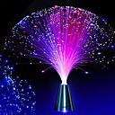 hesapli Yenilikçi LED Işıklar-Hkv® led fiber optik gece lambası lambası değişen küçük gece lambası düğün noel partisi ev dekorasyon