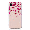 cheap Cases / Covers for Huawei-Case For Huawei P20 Pro / P20 lite IMD / Transparent / Pattern Back Cover Heart Soft TPU for Huawei P20 / Huawei P20 Pro / Huawei P20 lite / P10 Plus / P10 Lite / P10
