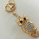 رخيصةأون سلاسل المفاتيح-سلسلة المفاتيح بوم حيوانات موضة خواتم مجوهرات ذهبي من أجل مناسب للبس اليومي