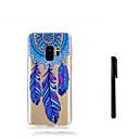 billige Hukommelseskort-Etui Til Samsung Galaxy S9 Plus / S9 Gennemsigtig Bagcover Drømme fanger Blødt TPU for S9 / S9 Plus / S8 Plus
