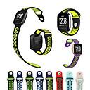 hesapli LED Araba Ampulleri-Watch Band için Fitbit Versa Fitbit Spor Bantları Silikon Bilek Askısı
