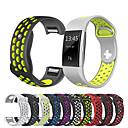 저렴한 Fitbit 밴드 시계-시계 밴드 용 Fitbit Charge 2 핏빗 스포츠 밴드 실리콘 손목 스트랩
