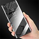 Χαμηλού Κόστους Θήκες / Καλύμματα Galaxy Note Series-tok Για Samsung Galaxy S9 S9 Plus με βάση στήριξης Καθρέφτης Ανοιγόμενη Αυτόματο ύπνος / αφύπνιση Πλήρης Θήκη Μονόχρωμο Σκληρή PU δέρμα