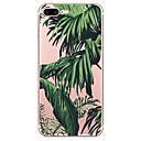 baratos Capinhas para iPhone-Capinha Para Apple iPhone X / iPhone 8 Estampada Capa traseira Plantas Macia TPU para iPhone X / iPhone 8 Plus / iPhone 8