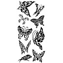 cheap Temporary Tattoos-1 pcs Tattoo Stickers Temporary Tattoos Animal Series Waterproof Body Arts Body / Arm / Shoulder