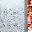 halpa Sisustustarrat-Kukka Kukka-aihe Matte, PVC/Vinyl materiaali ikkuna Decoration Olohuone Bath Room Shop / Kahvila