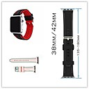 voordelige Apple Watch-hoesjes-Horlogeband voor Apple Watch Series 3 / 2 / 1 Apple Klassieke gesp Silicone Polsband
