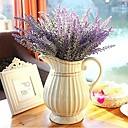 رخيصةأون أزهار اصطناعية-زهور اصطناعية 1 فرع ستايل حديث أزرق فاتح أزهار الطاولة