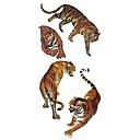 hesapli Oto Stickerları-1 pcs Dövme Etiketleri geçici Dövme Totem Serisi / Hayvan Serileri Su Geçirmez body Art Vücut / kol / omuz