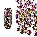 hesapli Makyaj ve Tırnak Bakımı-800 pcs Tırnak Takısı Parıltılı tırnak sanatı Manikür pedikür Günlük / Sade Yapay elmas / Nail Jewelry