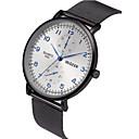 저렴한 남성용 시계-남성용 손목 시계 석영 블랙 / 실버 크로노그래프 캐쥬얼 시계 큰 다이얼 아날로그 패션 미니멀리스트 - 화이트 블랙 1 년 배터리 수명 / SSUO LR626