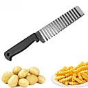 baratos Utensílios & Gadgets de Cozinha-onda batata faca aço inoxidável pepino cenoura batata vegetal ondas cortador