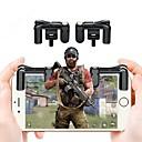 hesapli Wii Aksesuarları-Oyun Tetikleyici Uyumluluk Akıllı Telefon ,  Portatif Oyun Tetikleyici ABS 2 pcs birim