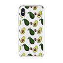 رخيصةأون أغطية أيفون-غطاء من أجل Apple iPhone X / iPhone 8 Plus نموذج غطاء خلفي كارتون / فاكهة ناعم TPU إلى iPhone X / iPhone 8 Plus / iPhone 8