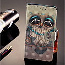 cheap Cases / Covers for Huawei-Case For Huawei Honor 9 Lite Wallet / Card Holder / with Stand Full Body Cases Owl Hard PU Leather for Huawei Honor 9 Lite / Huawei Honor 7C(Enjoy 8)