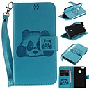cheap iPhone Cases-Case For Apple iPhone 6s / iPhone 6 Card Holder / Wallet / Flip Full Body Cases Panda Hard PU Leather for iPhone 6s / iPhone 6 / iPhone