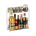 رخيصةأون أدوات & أجهزة المطبخ-1PC الرفوف وشمعدانات الفولاذ المقاوم للصدأ مخزن