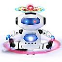 ieftine Alte RC-RC Robot Υπέρυθρες ABS Mini / cântat / Dans Nu
