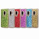 baratos Capinhas para iPhone-Capinha Para Samsung Galaxy S9 Plus / S9 Glitter Brilhante Capa traseira Brilho Rígida PC para S9 / S9 Plus / S8 Plus
